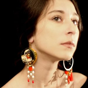 Pulcinella Handmade Earrings