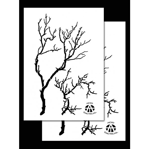 Army Duracoat Camo Stencils 2 Pack Acid Tactical®
