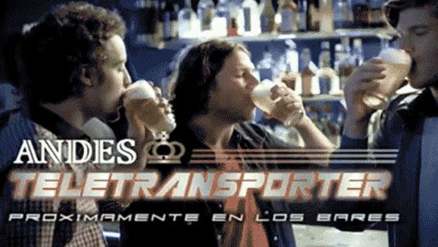 Cerveza Andes | Teletransporter