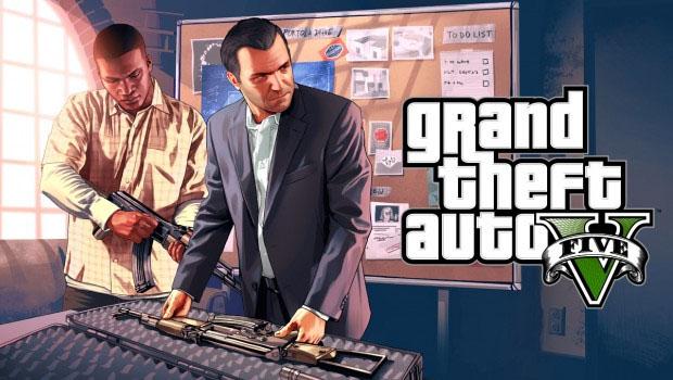 Saiu o gameplay do GTA V