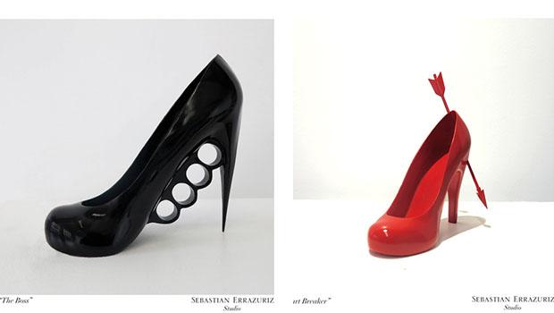 Artista chileno cria 12 sapatos baseado em suas amantes.