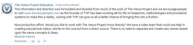 projeto venus