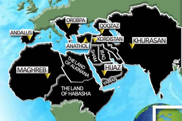 ISIS-world-map