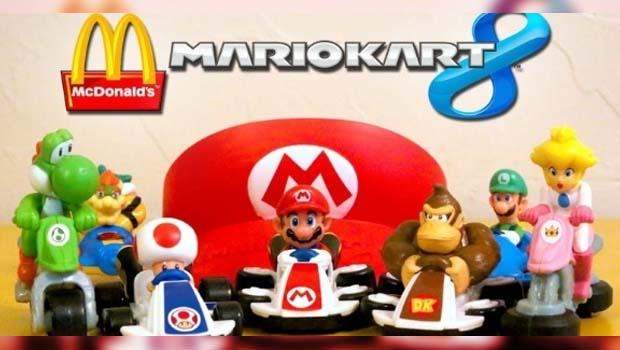 Mario Kart 8 chega em outubro no MC Lanche Feliz!