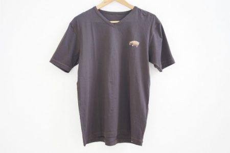 胸元ワンポイントがお茶目で可愛い、パパスの半袖Tシャツを宅配買取いたしました