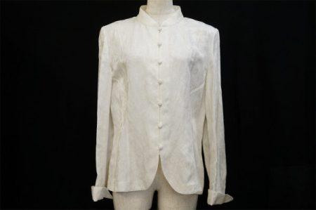 上品で凛とした女性を演出する、ハナエモリのジャケットを買取いたしました