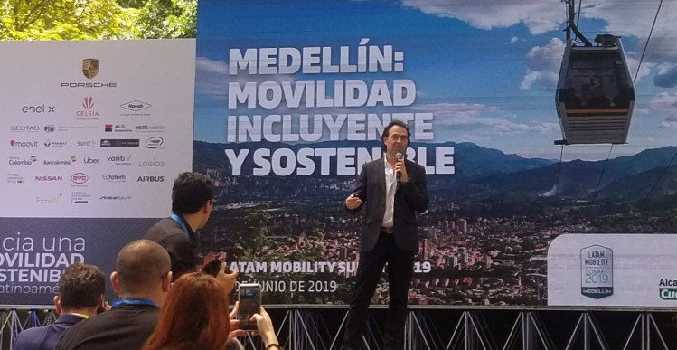 Medellín, sobresalió por su compromiso con la movilidad sostenible en Latam Mobility