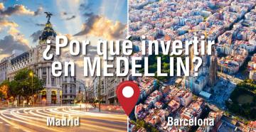 Por qué Medellín en España