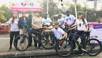 La movilidad no motorizada de Medellín es caso de estudio para países africanos