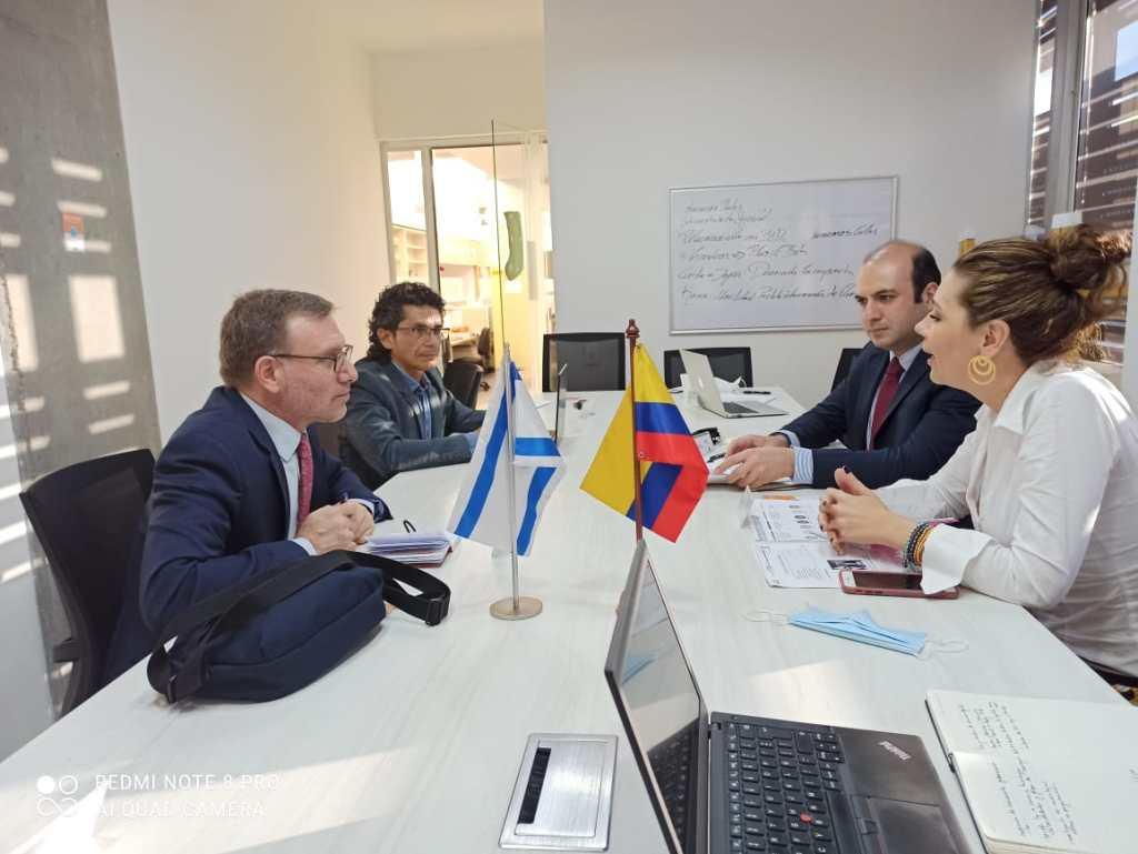 Israel fortalece lazos con Medellín y Antioquia