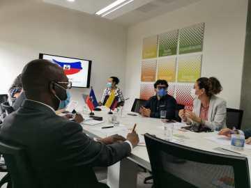 Haití, un país que mira a Medellín como ejemplo de transformación