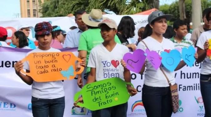 Caminata Huellas por la Ternura  llega a Colombia