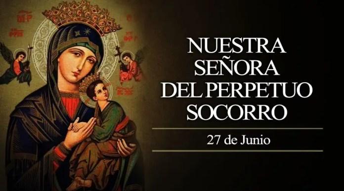 Resultado de imagen para Fotos de Nuestra Señora del Perpetuo Socorro