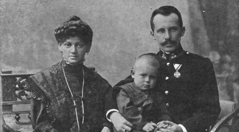 Karol Wojtyla y su esposa Emilia de Kaczorowski, padres de San Juan Pablo II / Crédito: Conferencia Episcopal Polaca