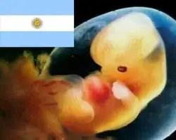 Anuncian movilización ante Congreso de Argentina por la vida y contra el aborto