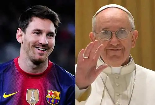 Lionel Messi / Papa Francisco