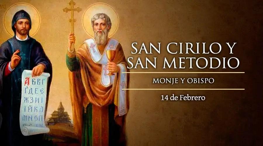 Resultado de imagen para San Cirilo, Monje, y San Metodio, Obispo