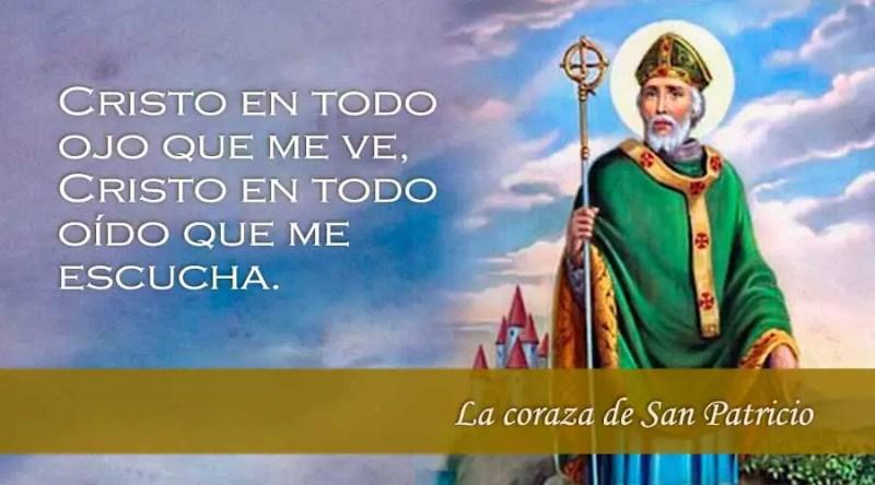 Oracion de san patricio contra las asechanzas del mal