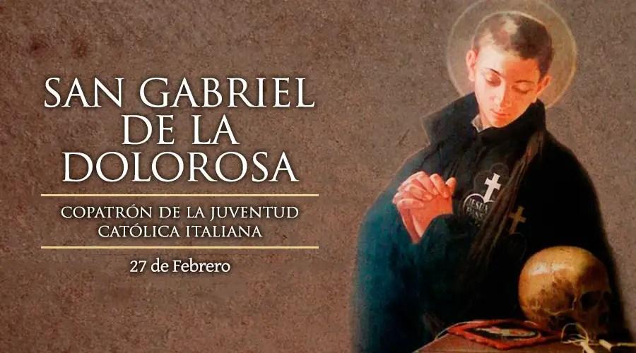 Resultado de imagen para San Gabriel de la Dolorosa