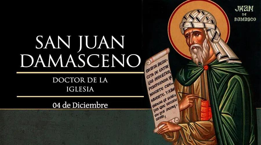 Resultado de imagen para San Juan Damasceno