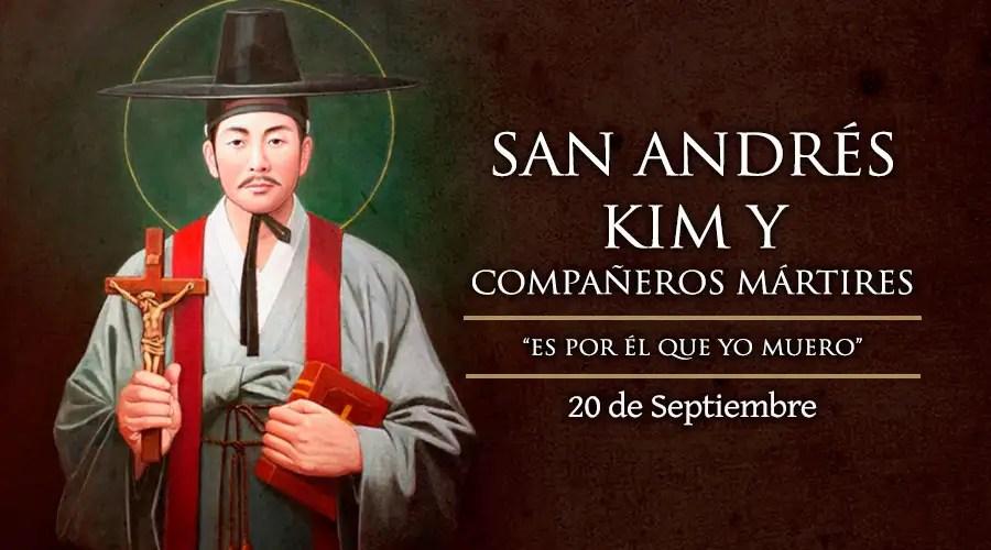 Resultado de imagen para Santos Andrés Kim Tae-Gon, Pablo Chong Ha-Sang y Compañeros Mártires