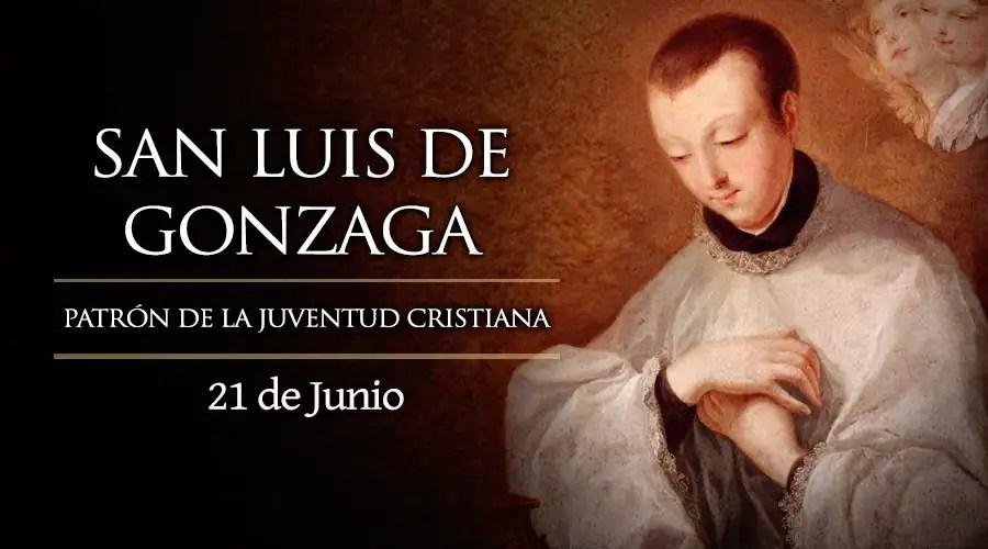 Resultado de imagen para San Luis de Gonzaga