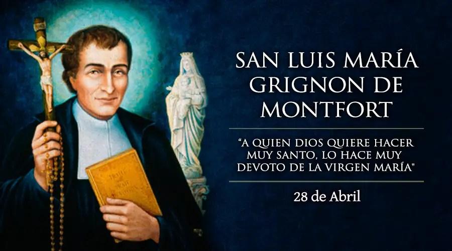 Resultado de imagen para San Luis María de Montfort