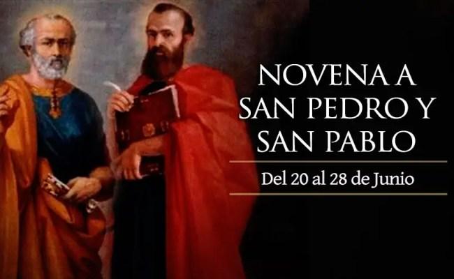 Novena A San Pedro Y San Pablo