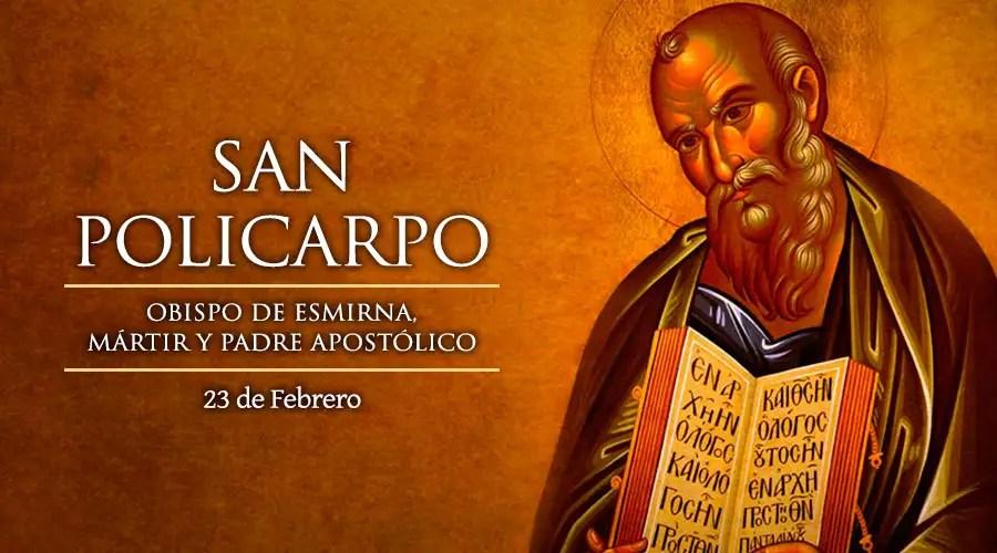Resultado de imagen para San Policarpo de Esmirna