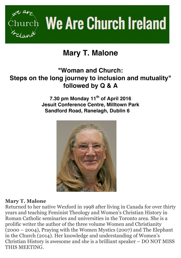 Microsoft Word - WAC Mary T Malone 11 April 2016.doc