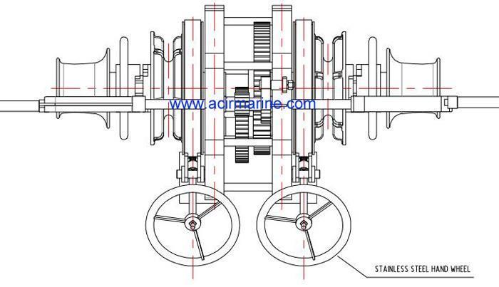 Horizontal Manual Anchor Windlass Suppliers and