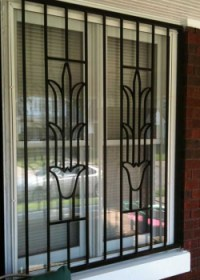 ACI Supply Co Inc: Decorative Flower Design Burglar Bars ...