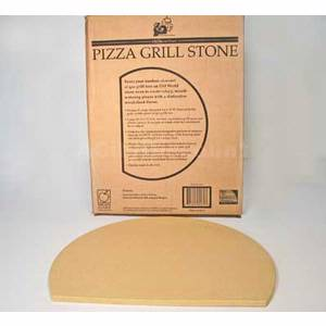 Old Stone Oven Pizza Grill Stone Shaped For Weber BBQ Grill 4471
