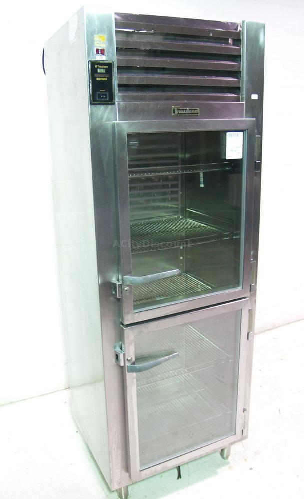 Used Traulsen UR30WTA ReachIn Glass Double Door Wine