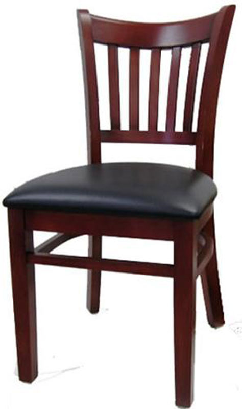 discount kitchen chairs engineered wood flooring h&d commercial seating 8642 slat back dining chair w ...