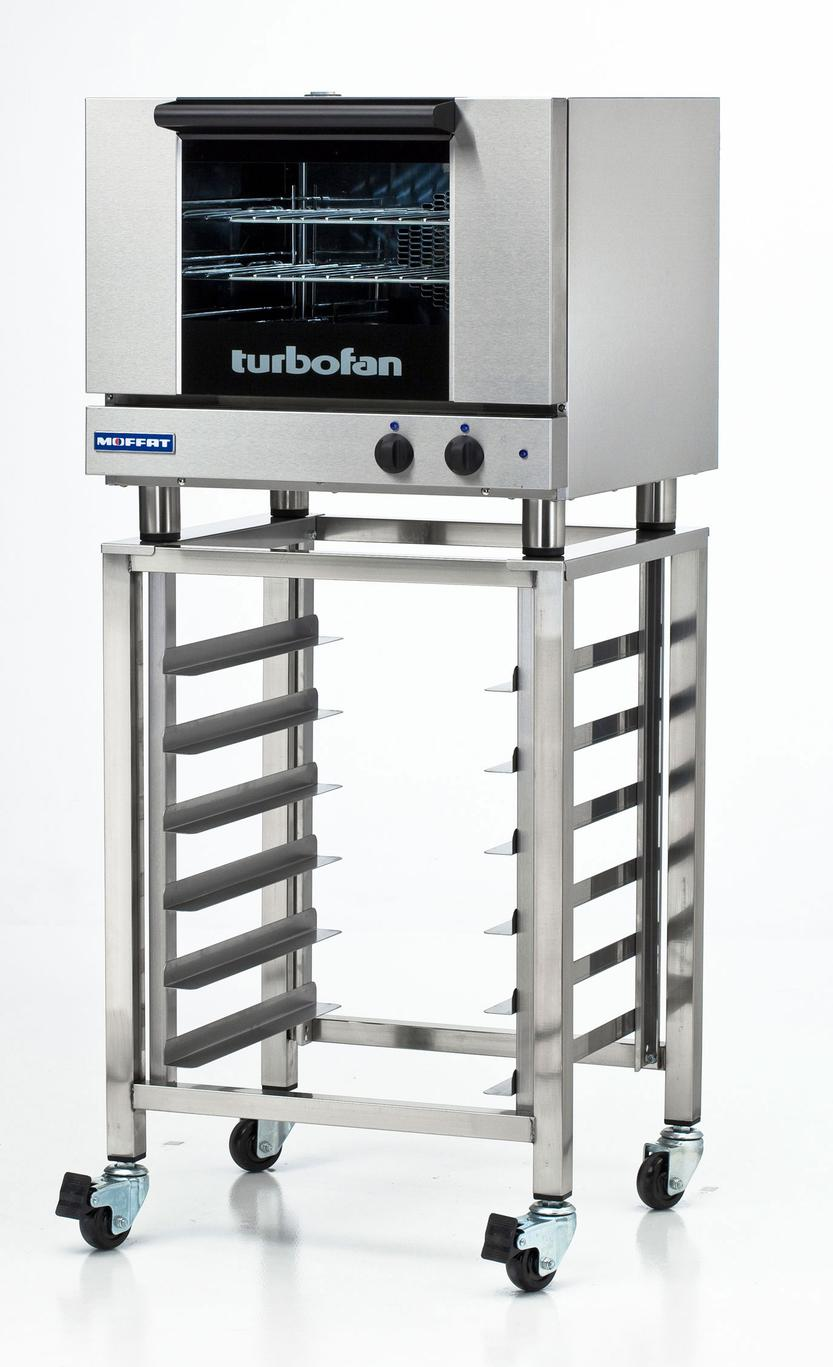 medium resolution of moffat e22m3 sk23 electric convection oven 3 half size pan w mobile stand