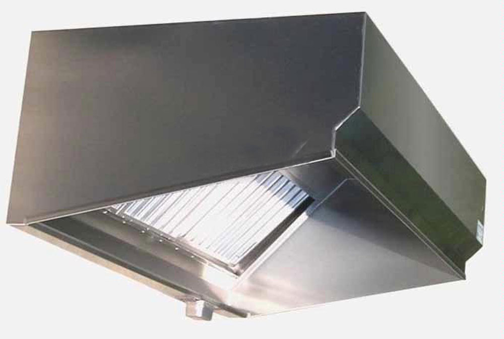 Superior Hoods VSE487 7Ft Stainless Steel Restaurant