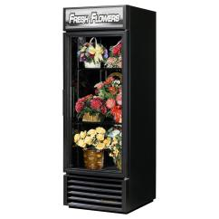 Kitchen Equipment Used Backsplash Options True Gdm-23fc-hc~tsl01 Single Glass Door Floral Display Cooler