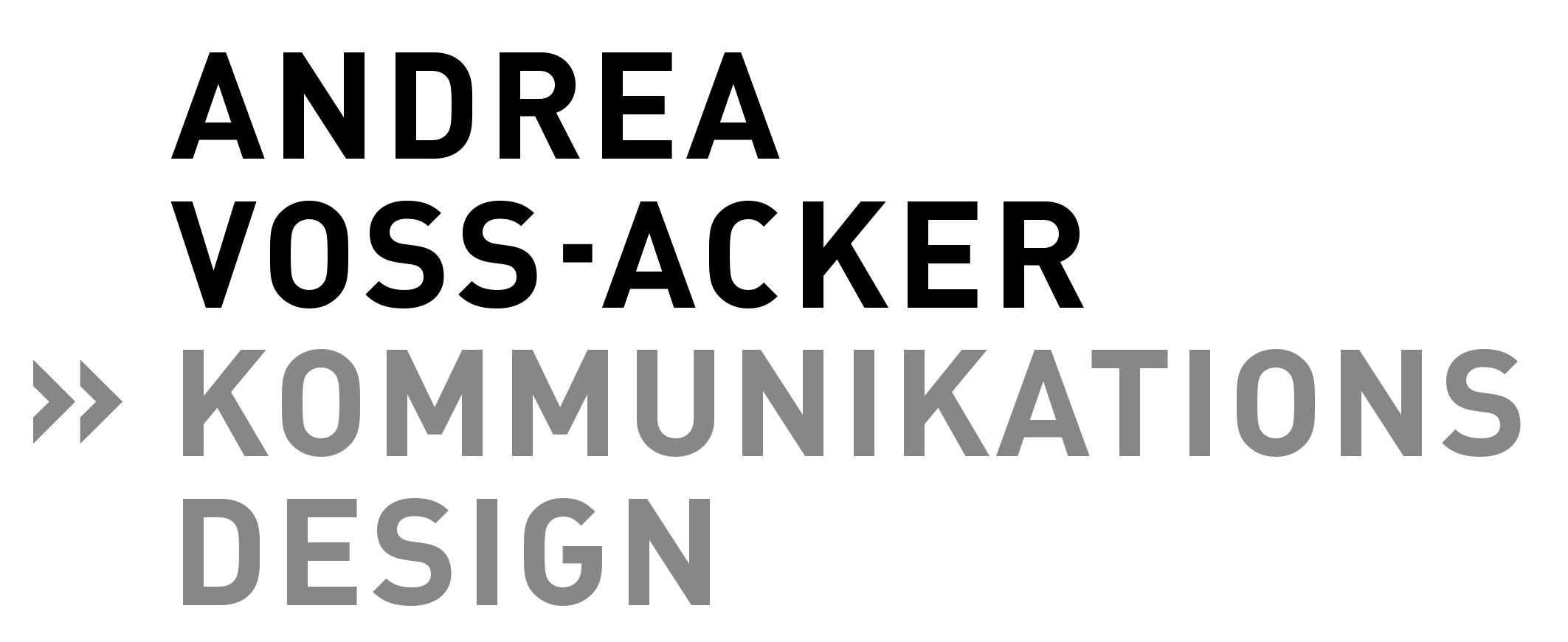 Andrea Voß-Acker Kommunikationsdesign