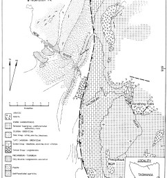 figure 8 geological map of the new river salisbury river basin showing the known and interpolated extent of karstic ordovician gordon group limestone in  [ 1476 x 1900 Pixel ]