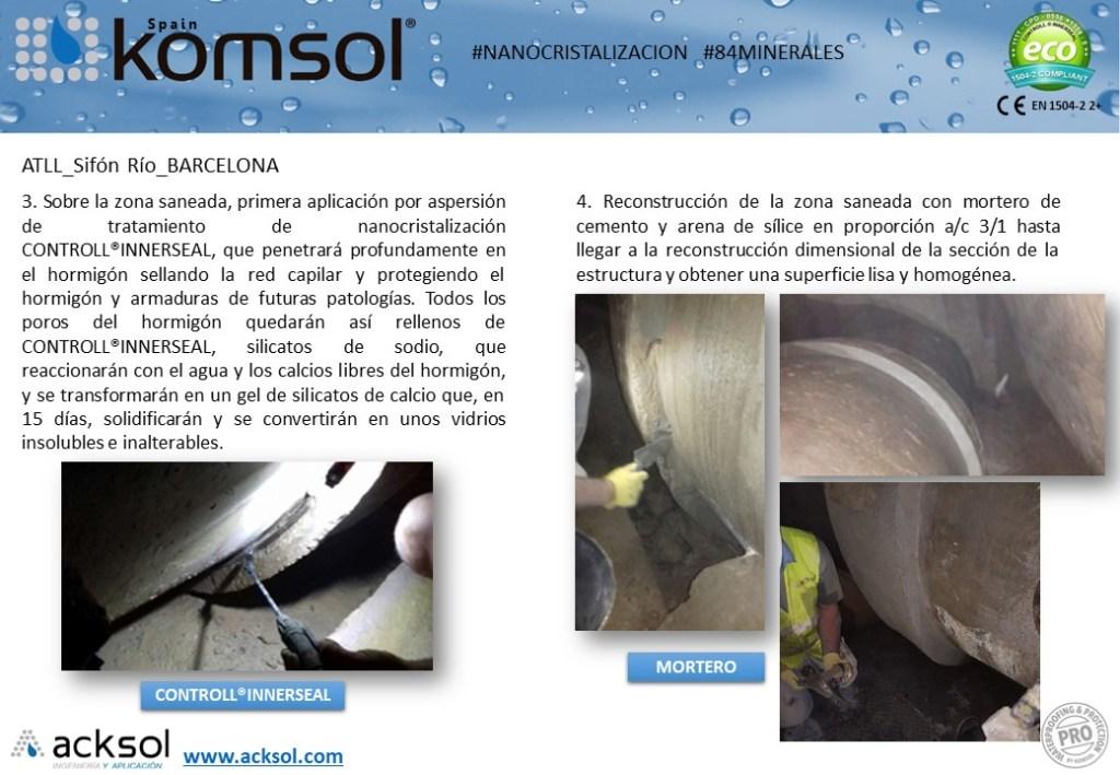 Reparación estructural y tratamiento de hormigón