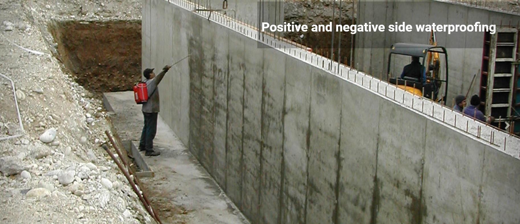 Impermeabilización de muros de sótano mediante nanocristalización