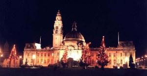 Cardiff City Hall Christmas