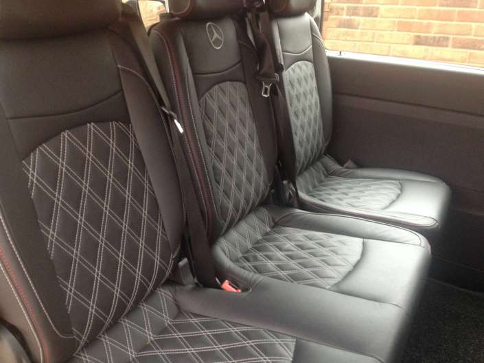Air Conditioning and Leather as Standard In All Our MPV Taxi