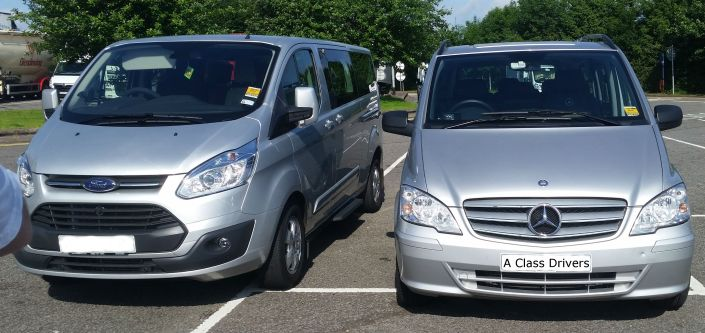 A Class Drivers Cardiff To Southampton Cruise Terminal Executive MPV Taxi