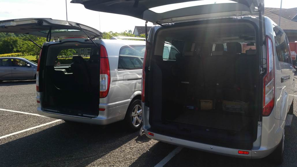 A Class Drivers Cardiff to Gatwick Executive MPV Taxi Transfer