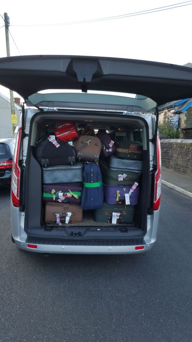 Executive MPV with space for you and your luggage