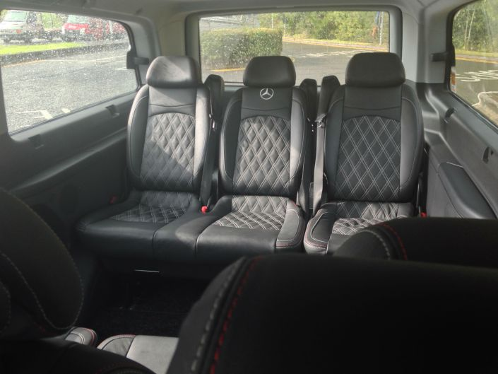 A Class Drivers Executive MPV Long Distance Taxi Leather