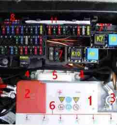 bert rowe s a class info battery compartment fuses relays mercedes benz a class fuse box location mercedes benz a160 fuse box [ 1165 x 956 Pixel ]