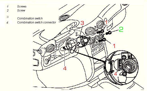 Bert Rowe's-Mercedes-Benz 'A'-class info. Removing the